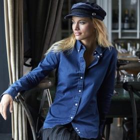 Chemise Femme en Sergé Style Jean Tee Jays 4003