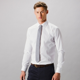 Slim Fit Business Shirt LS Kustom Kit KK192