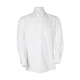 Chemise Classique Polyester Coton Kustom Kit KK140