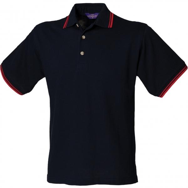 Polo avec liseré col et manches Henbury H150