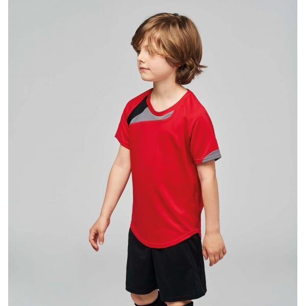 f857c11222b4a T-shirt de Sport Manches Courtes Enfant Proact PA437
