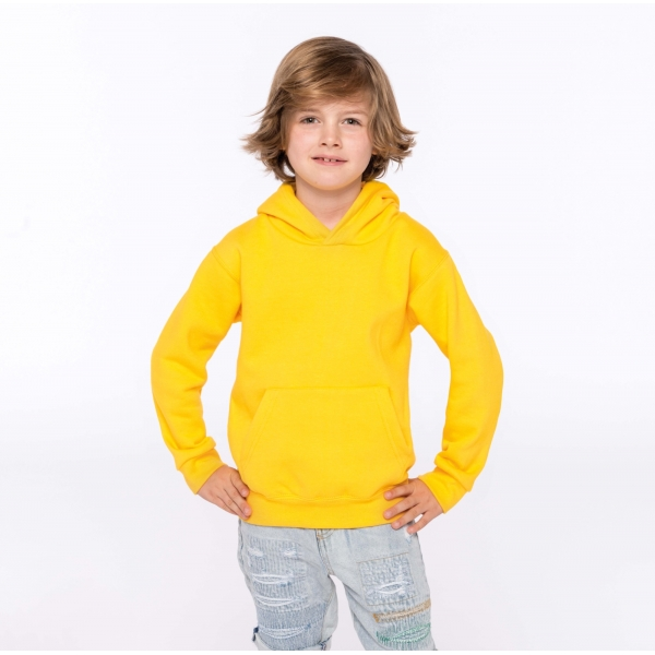 Sweat-shirt capuche enfant Kariban K477
