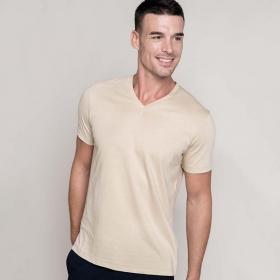 T-Shirt Col V Manches Courtes Kariban K357