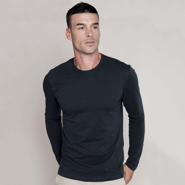 T-Shirt Col Rond Manches Longues Kariban K359