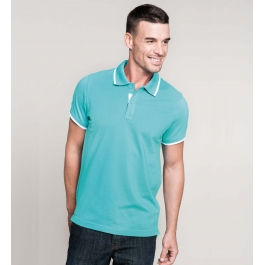 Polo Manches Courtes Up-Collar Kariban K245