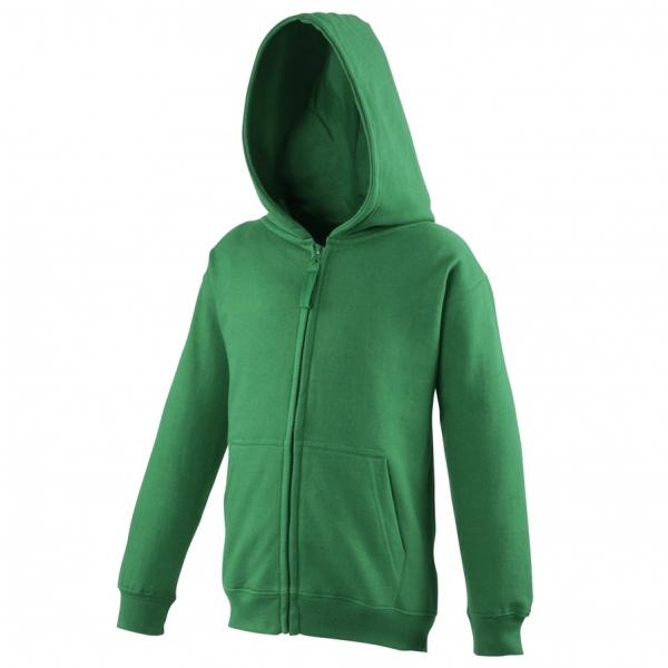Sweat-shirt zippé à capuche pour enfant AWDis JH50J