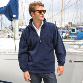 Sweat Polaire Col 1/4 zip Camionneur Result R033X