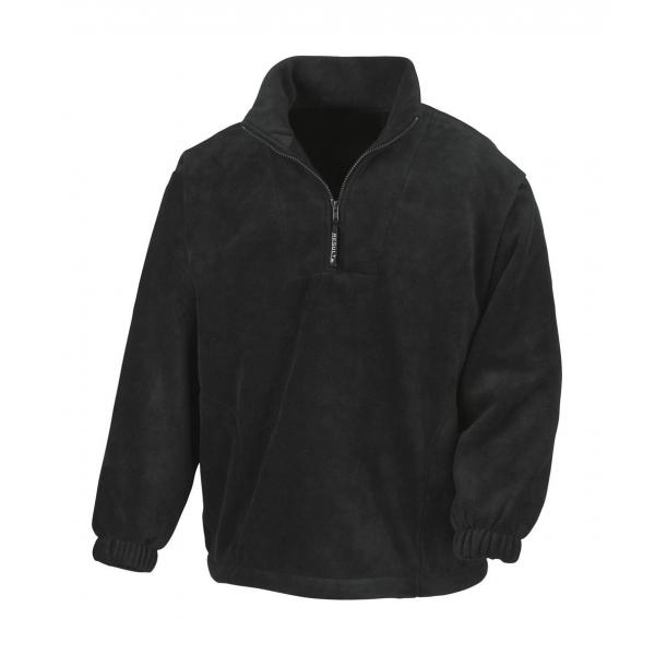 Sweat Polaire Col 1/4 zip Camionneur Result R033X
