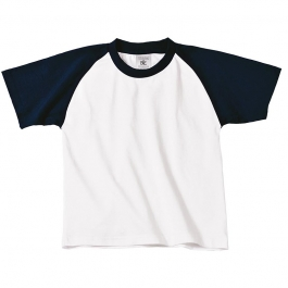 Base-ball Kids T-shirt B&C TK350