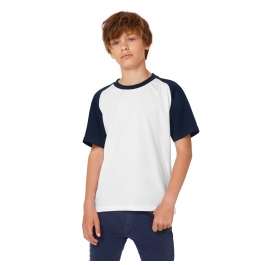 Base-ball Kids T-shirt B&C TK350