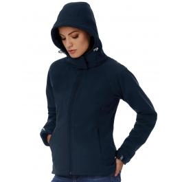 Veste softshell femme avec capuche B&C JW937