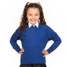 Sweat-shirt à manches raglan pour enfants Academy AWDis AC001J