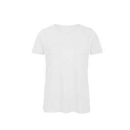 T-shirt femme col rond B&C Organic TW043