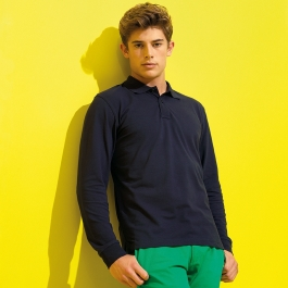 Polo manches longues Homme Asquith & Fox AQ030