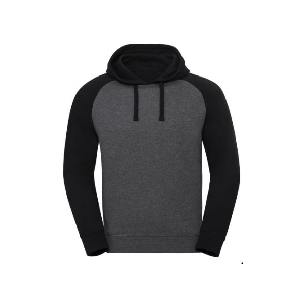 Authentic Hooded Baseball Sweat Russell R-269M
