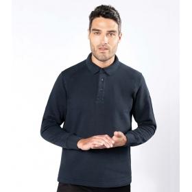 Sweat-shirt de travail col polo KARIBAN K4000