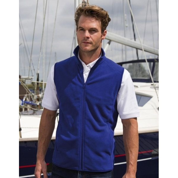 Gilet micro polaire Result R116X