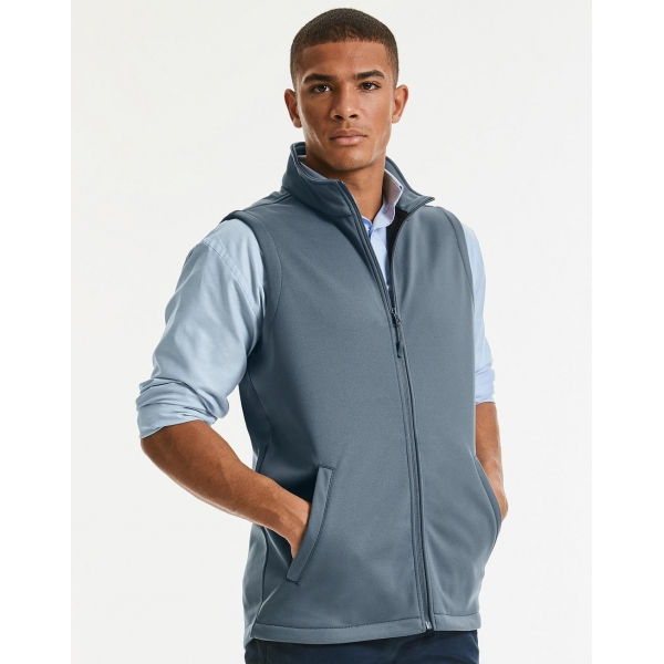 Veste Softshell Sans Manches Homme Russell R-041M-0