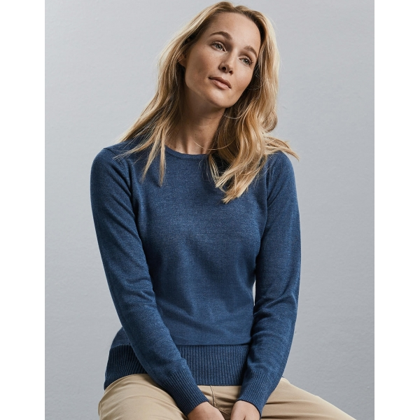 Pullover Femme Col Rond Russell R-717F-0