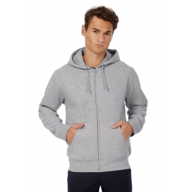 Sweat-shirt homme capuche zippé B&C Hooded Full Zip Men WM647