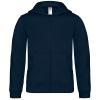 Sweat-shirt enfant capuche zippé B&C Hooded Full Zip Kids WK682