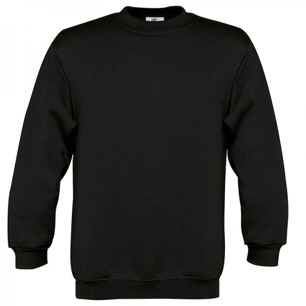 Sweat-shirt enfant col rond B&C WK680