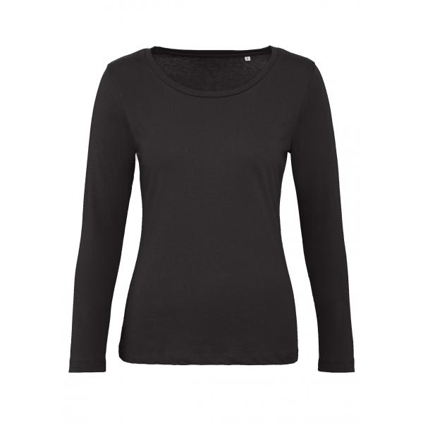 T-shirt bio femme M. longues B&C Inspire Plus T Women LS TW071
