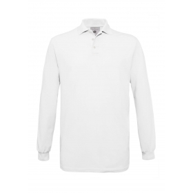 Polo homme manches longues B&C Safran LSL PU414 B&C Collection PU414