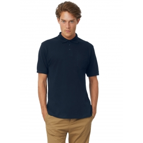 Polo homme avec poche B&C Safran Pocket PU415 B&C Collection PU415