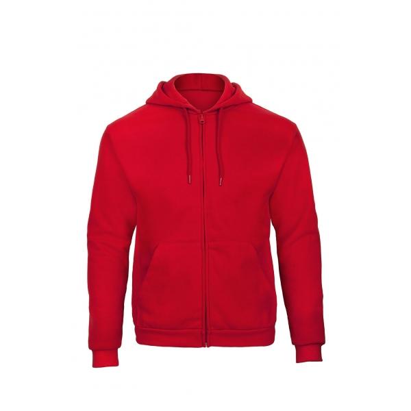 Sweat-shirt capuche zippé B&C ID.205 WUI25