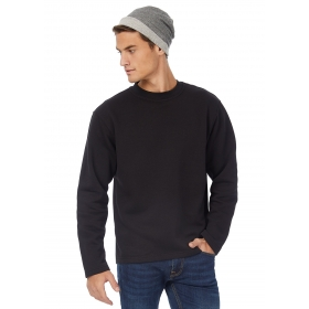 Sweat-shirt coupe droite B&C Open Hem WU610