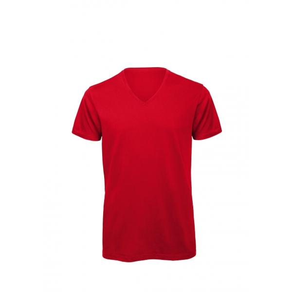 T-shirt homme col V B&C Inspire V T Men TM044