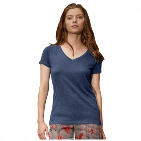 T-shirt femme col V en Triblend B&C TW058