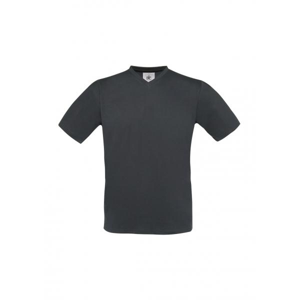 T-shirt col V B&C Exact 150 V-Neck
