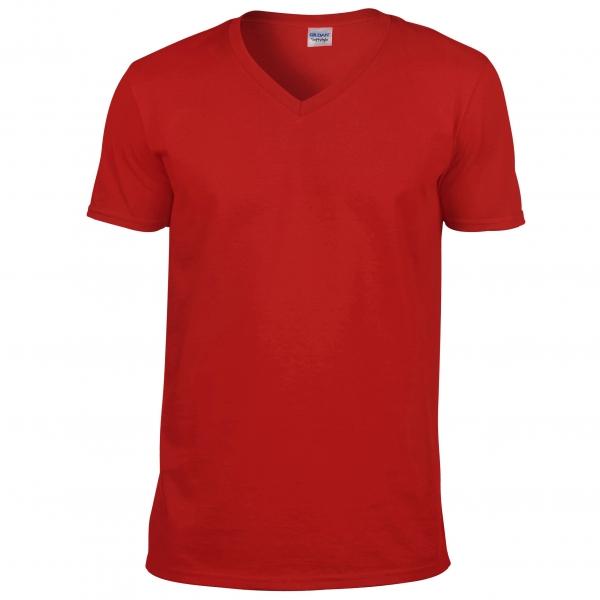 T-shirt 150 g col V Softstyle® Gildan 64V00