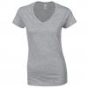 T-shirt Femme 150 g Col V Gildan 64V00L