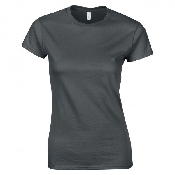 T-Shirt Femme Col V Côte 1x1 B&C Watch Women