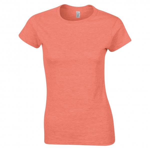 T-Shirt Femme Fluo Polycoton B&C Women Only PC