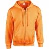 Sweat-shirt capuche zippé Gildan 18600