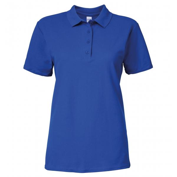 Polo femme en double piqué Softstyle® Gildan 64800L