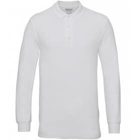 Polo manches longues en double piqué Premium Cotton Gildan 85900 Gildan 85900