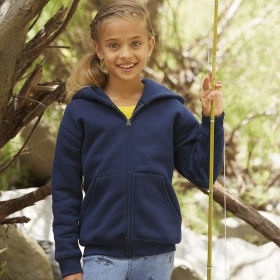 Premium Hooded Sweat Jacket Kids Fruit of the Loom 62-035-0