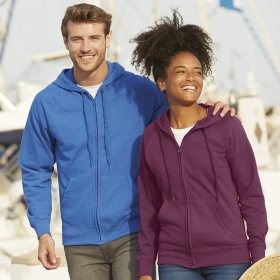 Lightweight Hooded Sweat Jacket Fruit of the Loom 62-144-0