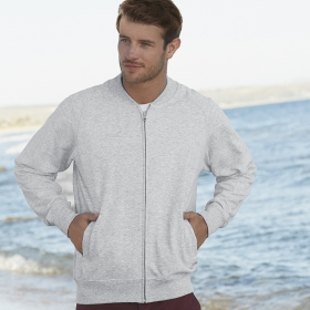 Lightweight Baseball Sweat Jacket Fruit of the Loom 62-162-0