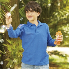 65/35 Long Sleeve Polo Kids Fruit of the Loom 63-201-0