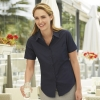 Popelin Shirt Short Sleeve Lady-Fit Fruit of the Loom 65-014-0
