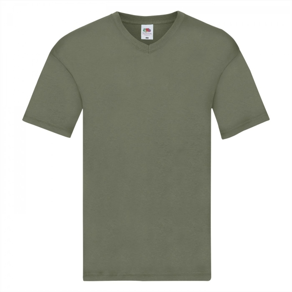 Original V-Neck T Fruit of the Loom 61-426-0
