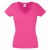Valueweight V-Neck T Lady-Fit Fruit of the Loom 61-398-0