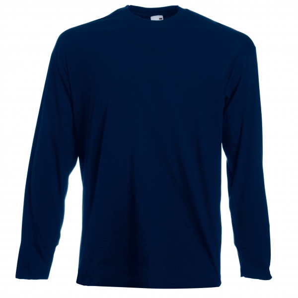 Value Weight LS T Fruit of the Loom 61-038-0
