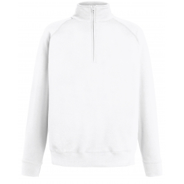 Lightweight Zip Neck Sweat Fruit of the Loom 62-158-0
